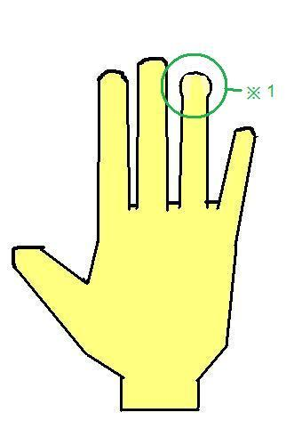 へら形の指~思いきりと行動力のある手相~