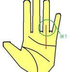 太陽線 薬指まで入る功績