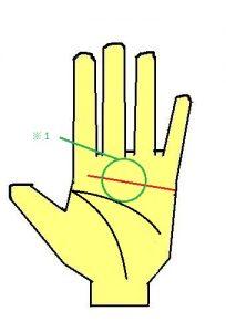 感情線が直線に長く伸びる手相は、感情的だが忍耐強い